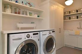 Laundry Room Storage Between Washer And Dryer Cabinet Height Above Washer And Dryer Laundry Room Cabinets