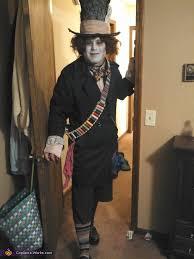 Mad Hatter Halloween Costume Men Hatter Costume Inspired Tim Burton