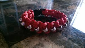 beaded paracord bracelet 7 steps