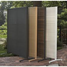 Privacy Screen Ideas For Backyard Portable Outdoor Wicker Privacy Partition For Backyards Not