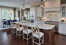eat in kitchen floor plans farm table kitchen island kitchen white with open floor plan
