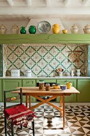 kitchen wall cabinets vintage 65 colorful boho chic kitchen designs digsdigs