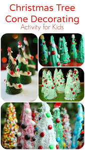 Christmas Decorations Cone Trees by Christmas Tree Cones