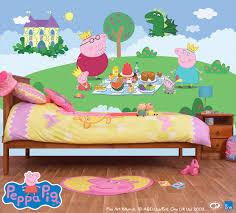 Peppa Pig Bed Set by Peppa Pig Full Wall Murals Five Designs The Block Shop