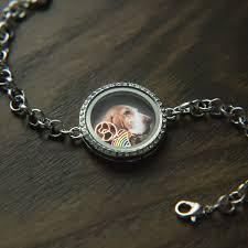 australian shepherd jewelry furever celebration locket bracelet donates 10 meals to shelter