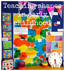 teaching shapes in early childhood you clever monkey