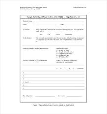 student daily report template daily report template 55 free word excel pdf documents