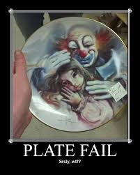 Creepy Clown Meme - wtf clown demotivational posters know your meme