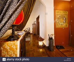 hallway of a modern chinese apartment located in the gascogne