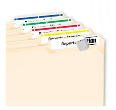 amazon com avery 5029 clear self adhesive filing labels 3 7 16