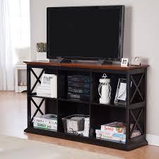 Tv Stand Desk by Amazon Com Belham Living Hampton Tv Stand Bookcase Black Oak