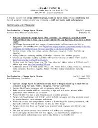 Footlocker Resume Awesome Champs Sports Resume Pictures Simple Resume Office