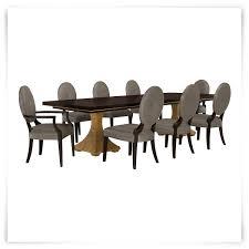 city furniture jet set gray rectangular table u0026 4 upholstered