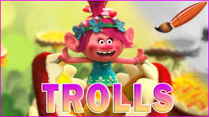 i tolerate you coloring page trolls movie poppy almost eaten kids coloring book coloring