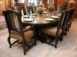 Big Dining Room Tables Dining Room Tables With Granite Tops Stunning Ideas Granite Dining