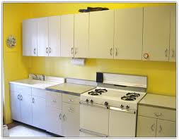 Metal Cabinets For Kitchen Black Metal Kitchen Cabinets And Photos Madlonsbigbear