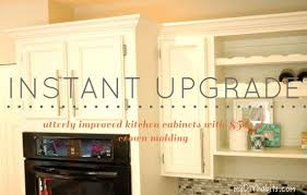 adding crown molding to kitchen cabinets mada privat