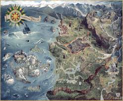 Ff9 World Map by