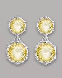 judith ripka earrings judith ripka eclipse earrings