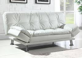 White Sofa Bed Atlantic Bedding And Furniture White Chaise