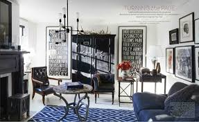 Masculine Home Decor Elle Decor U0027s 5 Best Rooms With Designer Rugs In October 2016