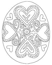 32 coloring pages easter images
