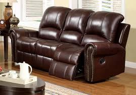 Best Italian Leather Sofa Abbyson Living Broadway 2 Pc Reclining Italian Leather Sofa And