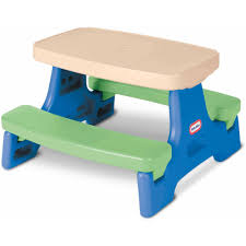 little tikes easy store picnic table little tikes easy store jr play table walmart com