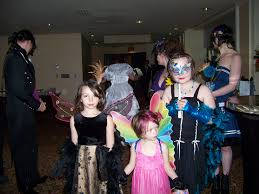 masquerading for a halloween wedding