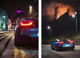 Bmw I8 Night - will harvey digital designer u0026 photographer edinburgh