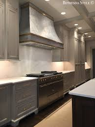 cool hunting kitchen ranges the effortless chic bethesdastyle fontenay range lacanche stainless steel unlacquered brass bands hood