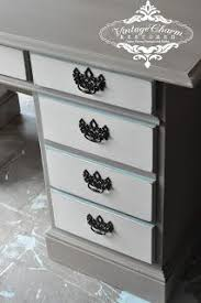 Desk Refinishing Ideas Best 25 Refinished Desk Ideas On Pinterest Desk Redo Black