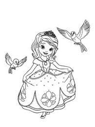 princess sofia coloring kids disney girls coloring