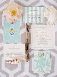 beachy wedding invitations 26 cool wedding invitations weddingomania