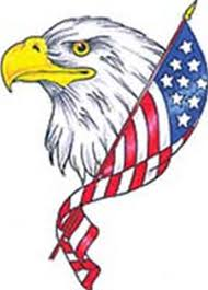 Bald Eagle And American Flag 95 Bald Eagle With American Flag Tattoos U0026 Designs With Meanings