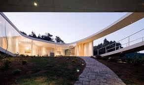 Home Studio Design Associates Review by Futuristic White O Residence By Toyo Ito U0026amp Associates