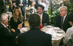 is trump at mar a lago trump handles missile crisis in front of mar a lago diners the