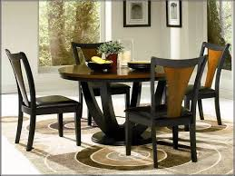 Round Dining Table And Chairs For  Dining Rooms - Four dining room chairs