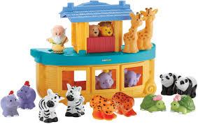 fisher price little people noah u0027s ark gift set toys