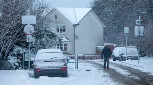 Snow Scotland Workers Urged To Go Home Early As Heavy Snow Forecast