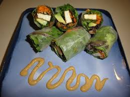 paper wraps rice paper wraps roll up some healthy summer dc vegetarian