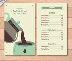 coffee shop menu template 15 gorgeous cafe bar menu templates xdesigns