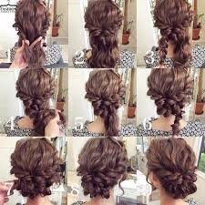 curly hair updos step by step updo diy for medium length hair google search its all about