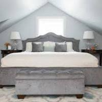 grey bedroom bench justsingit