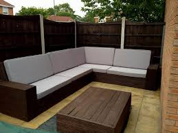 contemporary l shaped outdoor bench ideas home decoration ideas
