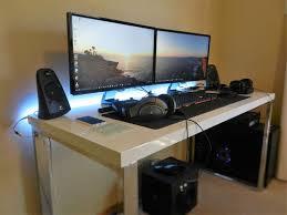 Desk For Gaming Setup by 161 Best Battlestation Images On Pinterest Gaming Setup Desk