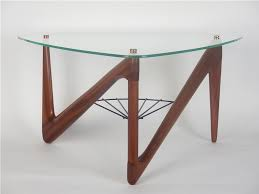 triangle glass coffee table ideas the right triangle glass