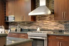 Copper Backsplash Kitchen Kitchen Kitchen Room White Countertop Near Grey Tile Backsplash In