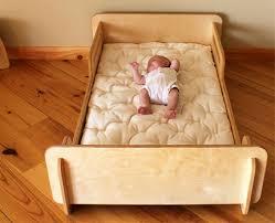Crib Mattress Toddler Bed Los Niños De Madera De Cama Baja Mobiliario Habitacion Bebes Y