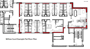 floor plans for flats accommodation u2013 university of stirling